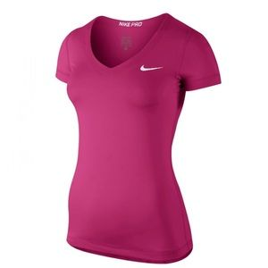 Nike Pro Shortsleeve V-Neck Women Shirt